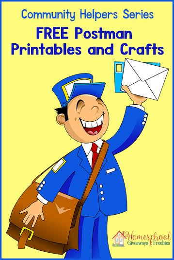 Postman on homeschool free printable curriculum