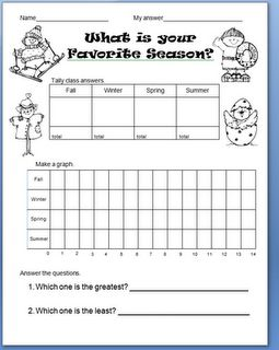 free printable graphing and seasons worksheet homeschool giveaways. Black Bedroom Furniture Sets. Home Design Ideas