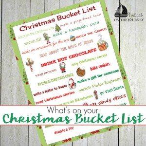 Cmas Bucket List