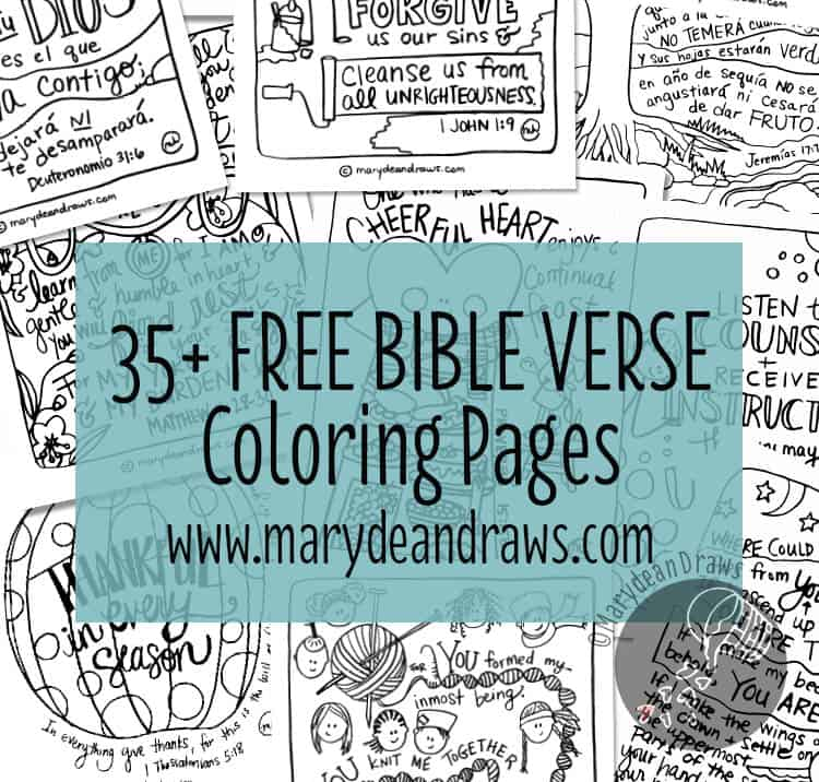 35 Free Printable Handdrawn Bible