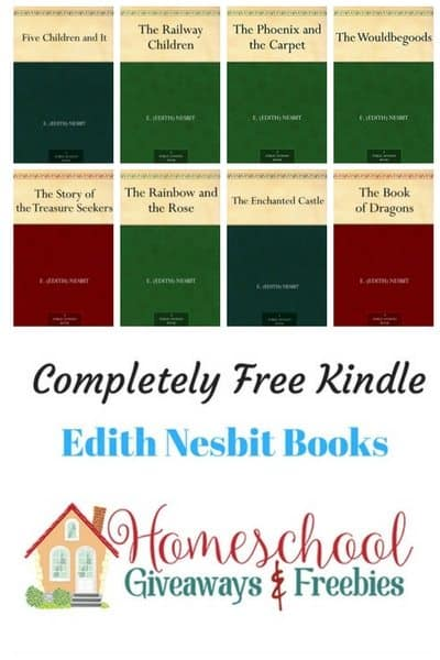Free Edith Nesbit Kindle Books