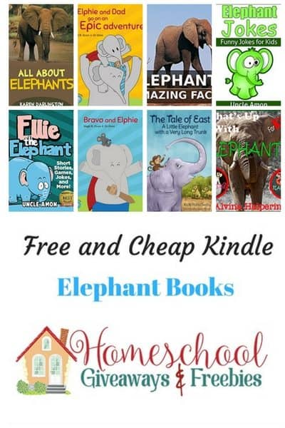 Free and Cheap Elephant Kindle Books