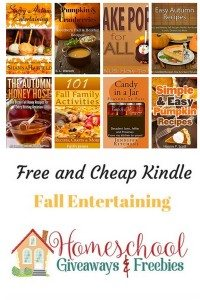 Free and Cheap Kindle Books Fall Entertaining
