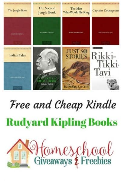 Free and Cheap Rudyard Kipling Kindle Books