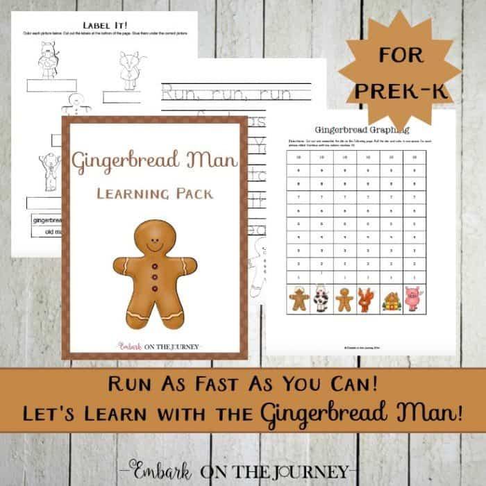 Gingerbread Man Print