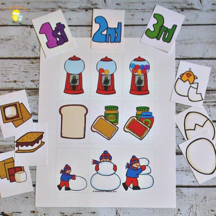 photograph relating to Sequence Cards Printable referred to as Totally free Printable Sequencing Playing cards for Preschoolers
