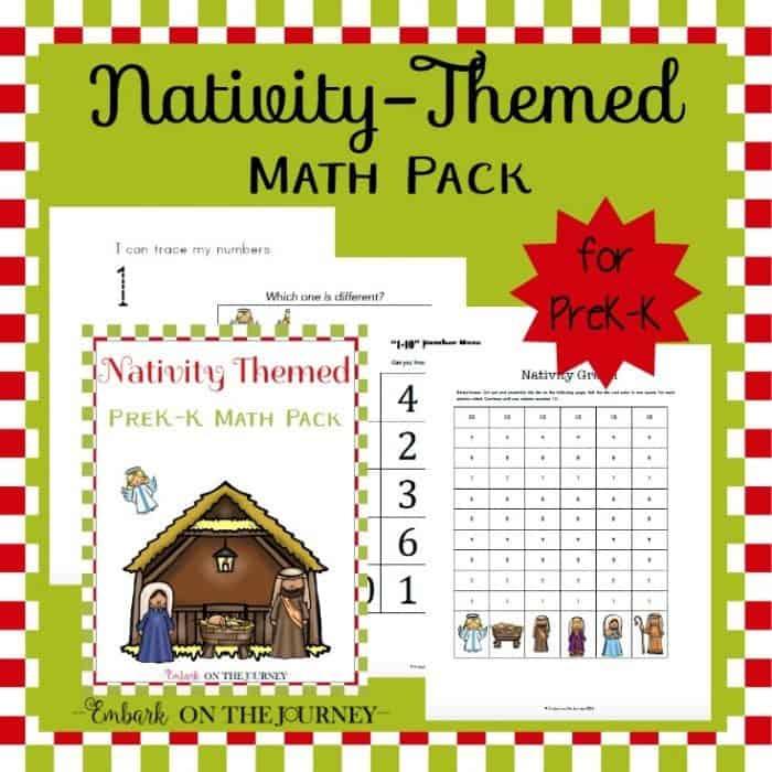 Nativity Math Pack