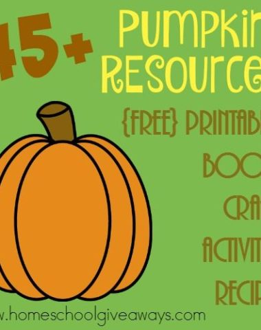 It's not too late to study pumpkins! Check out some of these great resources to make Fall last just a little bit longer! :: www.homeschoolgiveaways.com