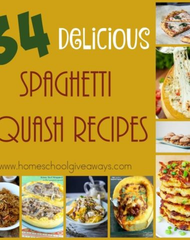 Spaghetti Squash is a great way to have some delicious dishes without the gluten and grains! Check out these spins on some classic dishes! :: www.homeschoolgiveaways.com