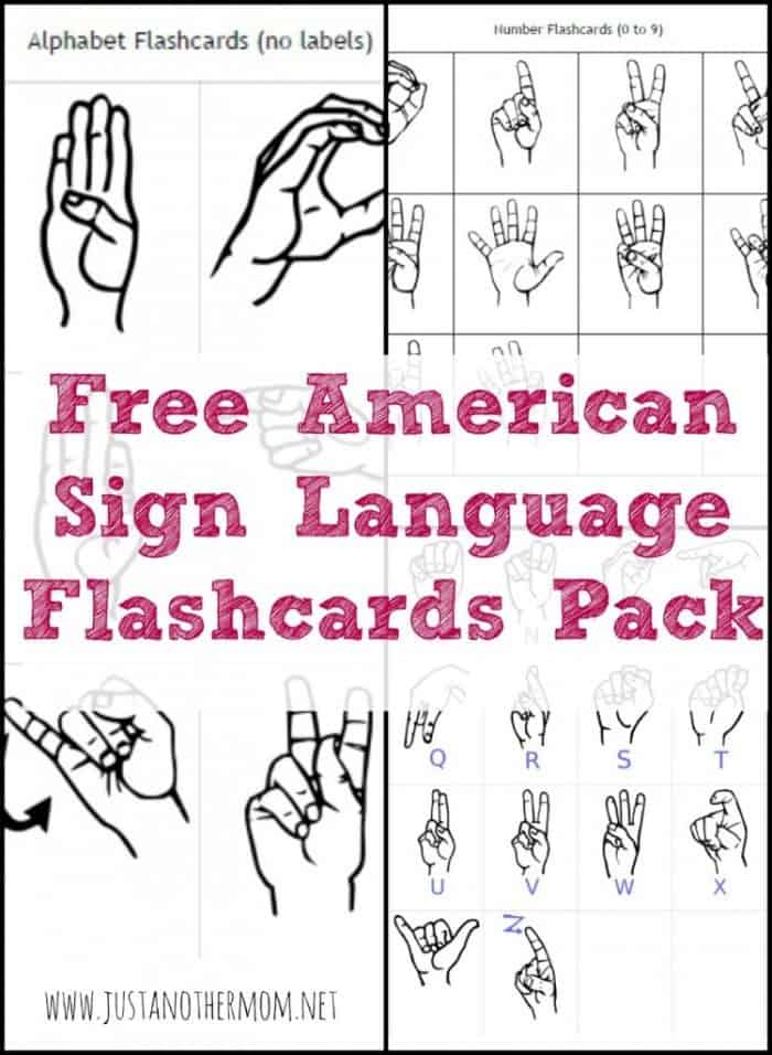 It is an image of Crush Asl Alphabet Printable