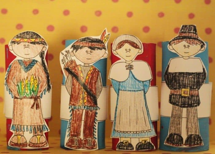 pilgrim-and-indian-storytelling-printable