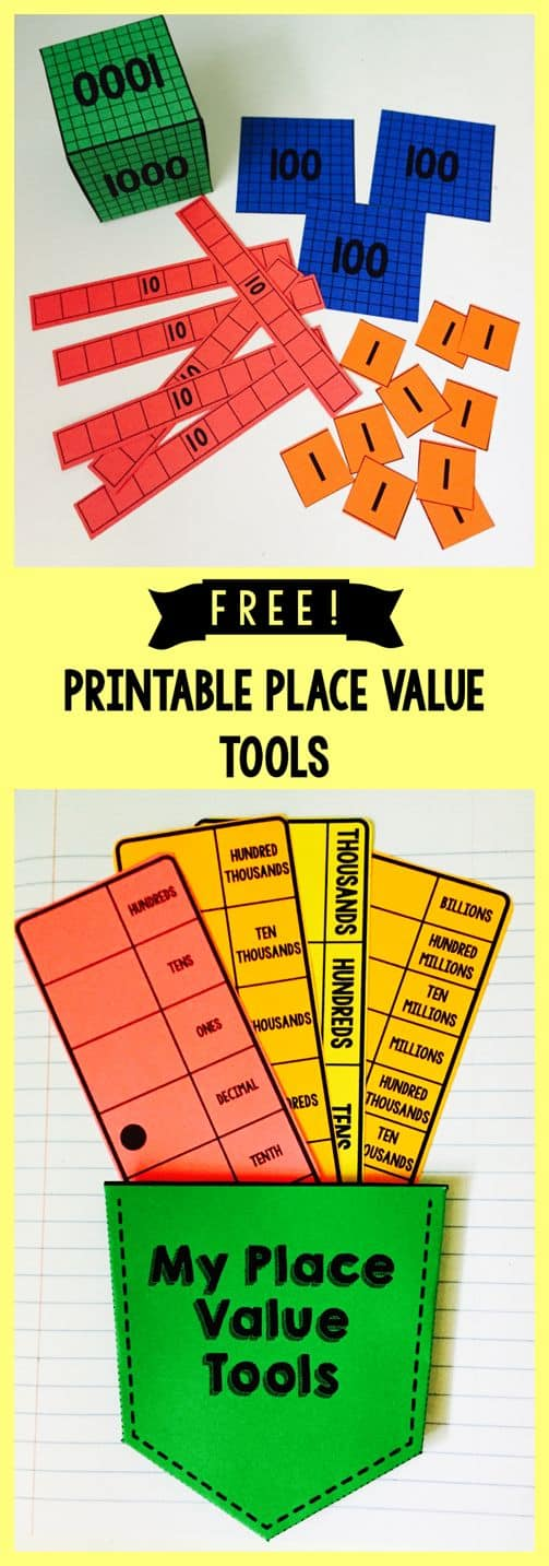 photo relating to Place Value Printable identified as Free of charge Printable Issue Relevance Resources - Homeschool Giveaways