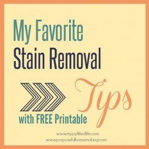 stain-pin-free