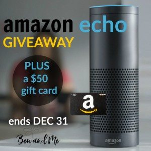 Amazon Echo Giveaway sq BAM