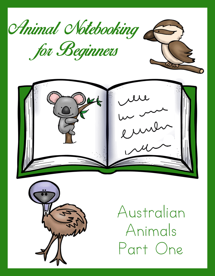 Animal-Notebooking-for-Beginners-Australian-Animals-Pt.-1
