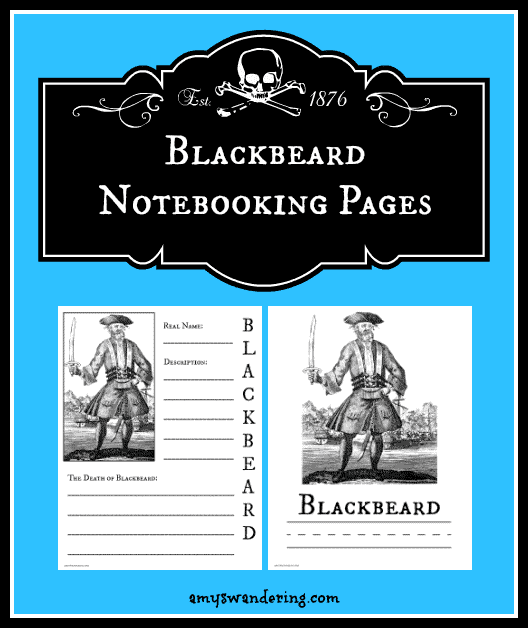 Blackbeard-Notebooking-Pages