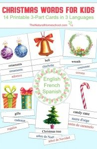 Christmas-Words-for-Kids-in-3-Languages-Printable-3-Part-Cards