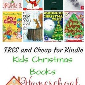 Free and Cheap Kindle Christmas Kids Books