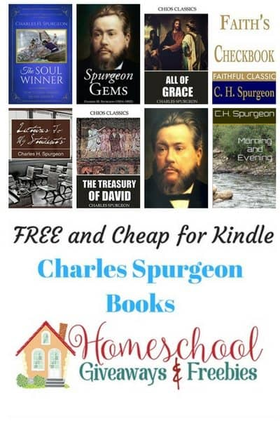 Free and Cheap Spurgeon Kindle Books