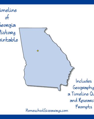Georgia History Printable