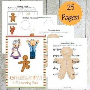 Gingerbread Man K-3