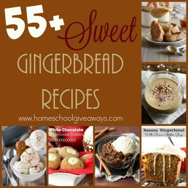Gingerbread just says Christmas to me. Who knew you could use the flavor in so much more than just cookies! If you love gingerbread, check out these sweet treats! :: www.homeschoolgiveaways.com