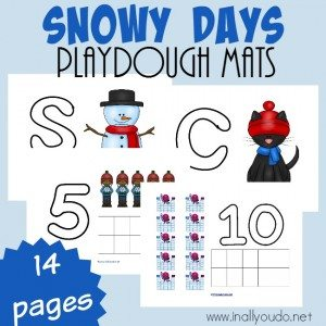 Snowy Days Playdough Mats_square