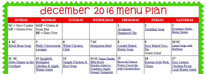 cropped menu