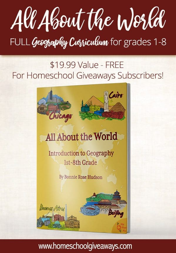 Free Full Geography Curriculum 1999 Value Homeschool Giveaways