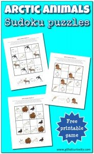 Arctic-Animals-Sudoku-Puzzles-Gift-of-Curiosity