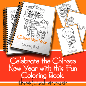 Chinese New Year Coloring Book Fun