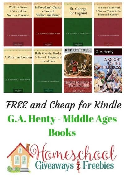 Free and Cheap G.A.Henty Middle Ages Kindle Books