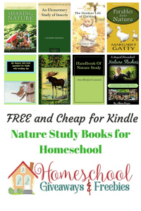 Free and Cheap Kindle Nature Study Books