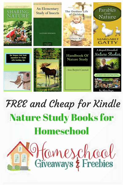 free and cheap kindle nature study books for homeschool