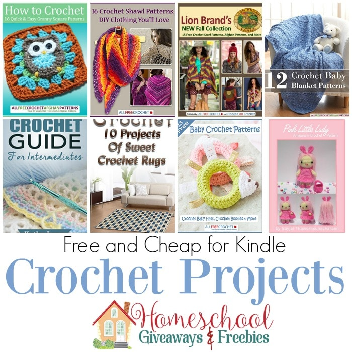 Free Crochet Pattern Books For Kindle