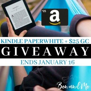 Kindle Paperwhite Giveaway sq
