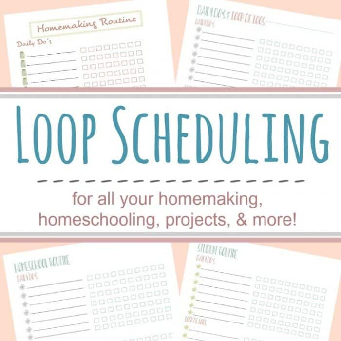 Gutsy image pertaining to loop schedule printable