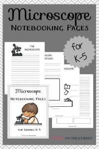 Microscope-Notebooking-Pages