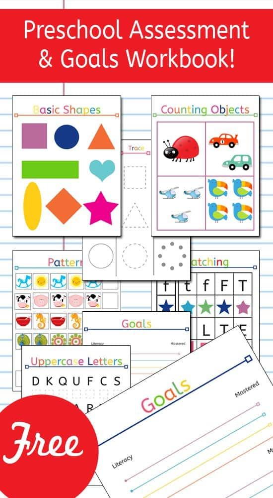 photo regarding Preschool Assessment Printable identify Absolutely free Printable Preschool Investigation Targets Workbook