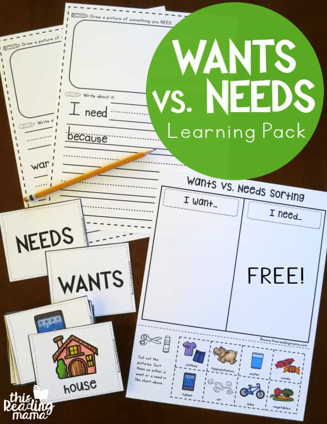 Wants-vs-Needs-Learning-Pack-free-This-Reading-Mama