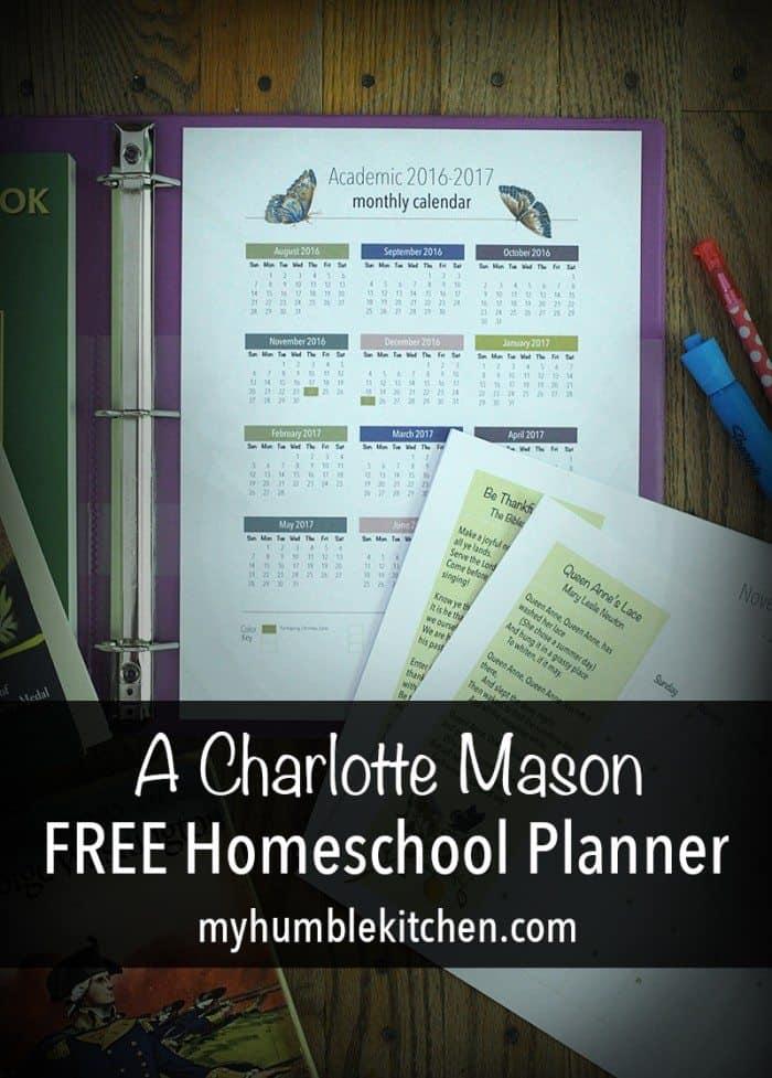 free-charlotte-mason-homeschool-planner