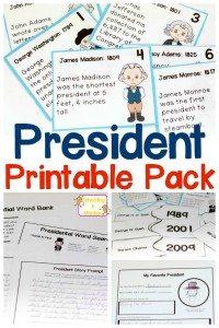 president-worksheets-p