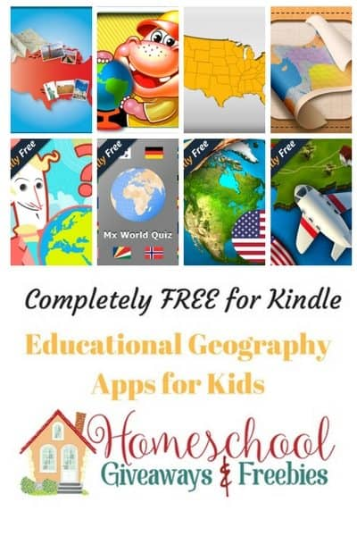 FREE Geography Kindle Apps