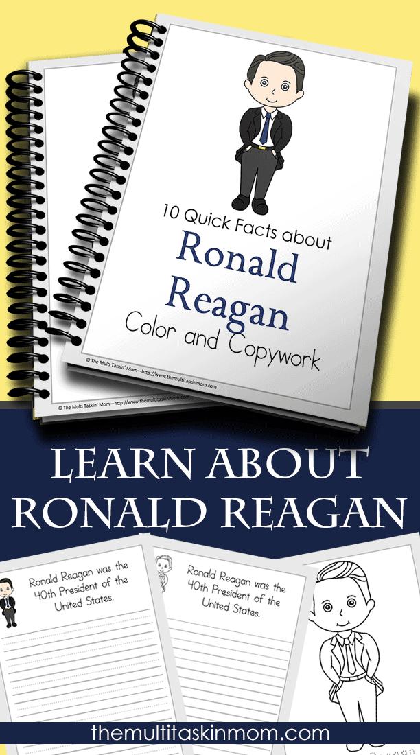 Ronald Reagan Fun Facts For Kids