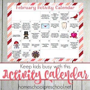 Feb PreK Calendar