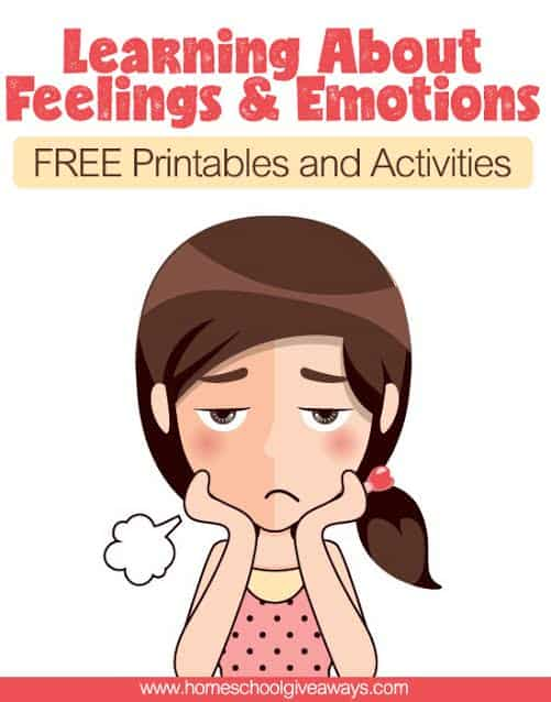 Adaptable image for feelings and emotions worksheets printable