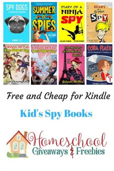 Free and Cheap Kindle Spy Books