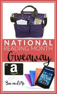 National Reading Month Giveaway