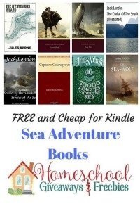 sea adventure books