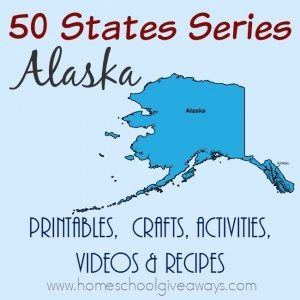 Working your way through the United States of America? Here are some great resources for learning more about our 49th state, Alaska. :: www.homeschoolgiveaways.com